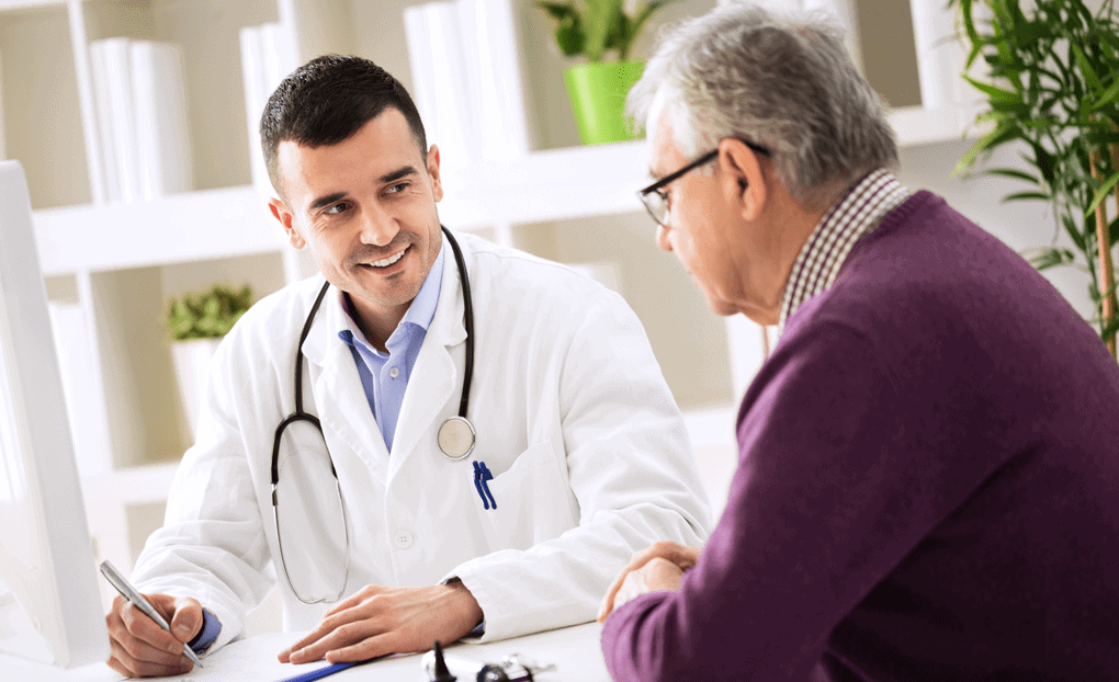Doctor with Patient   Connecticut Disc and Laser Therapy Centers