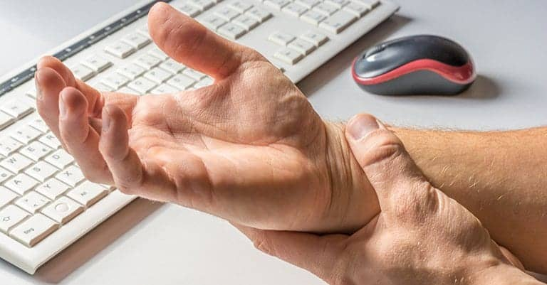 Treatment on the Wrist for Carpal Tunnel Syndrome | Connecticut Disc and Laser Therapy Centers | Dr. James J. Dalfino