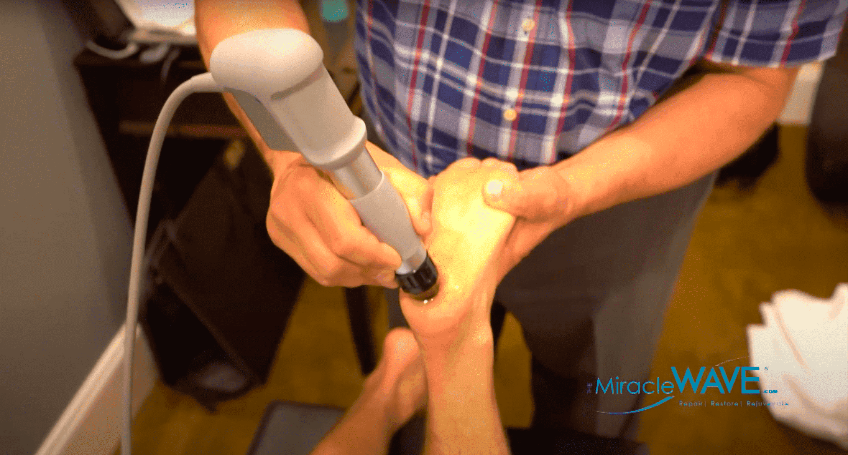 The Miracle Wave | Connecticut Disc and Laser Therapy Centers | Dr. James J. Dalfino | Shelton, CT